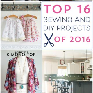 The best sewing and DIY projects of 2016 - so many cute ideas and free tutorials!