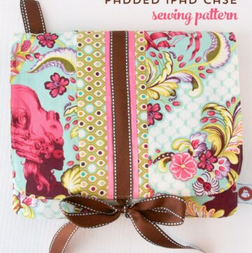 Tech Sewing: Free Padded iPad Case Sewing Pattern