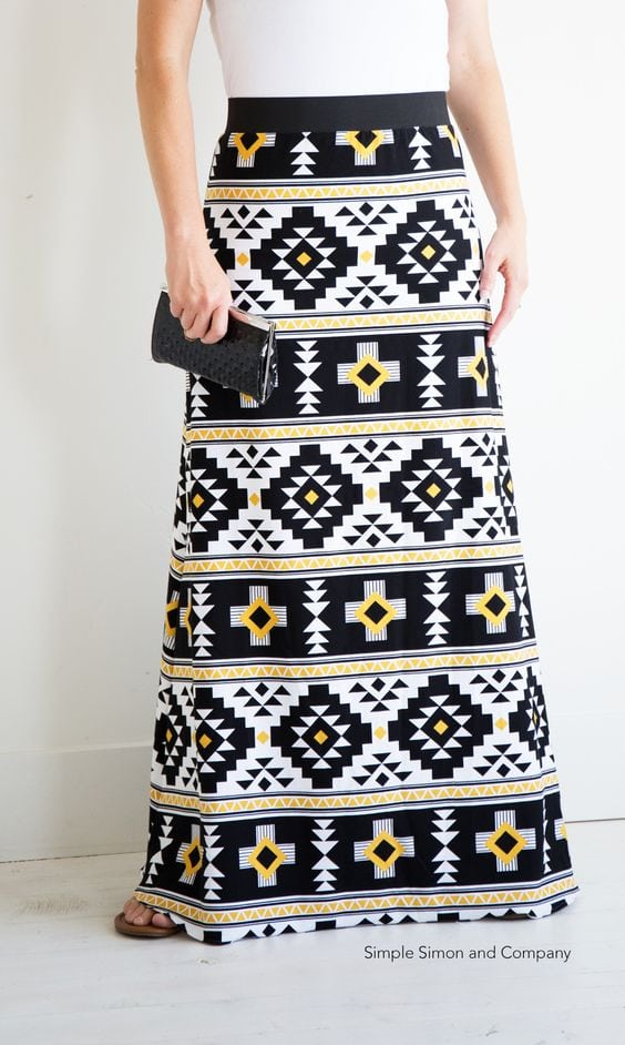 Simple Maxi Skirt by Simple Simon & Co.