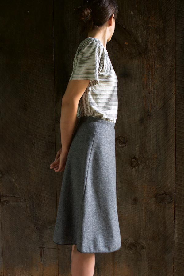 Wool Skirt by purlsoho.com