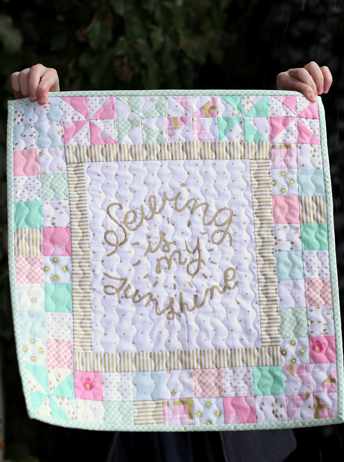 Sewing is my Sunshine Quilt by Amy Smart