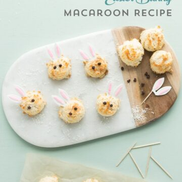 Easter Bunny Sugar Free Coconut Macaroon Recipe