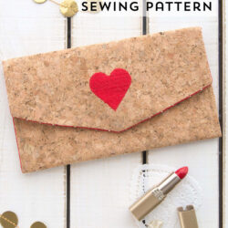 DIY Cork Clutch Sewing Pattern by Melissa Mortenson for JoAnn Stores