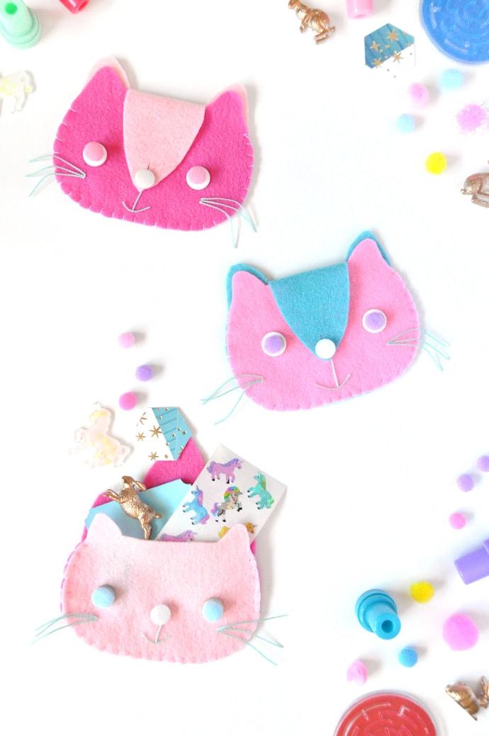 DIY Kitten Clutch by Handmade Charlotte