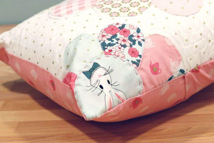 Wonderland Two Pillow by Shari Butler of Doohikey Designs