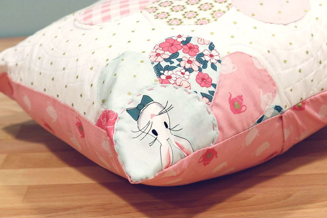 Wonderland Two Pillow by Shari Butler of Doohikey Designs