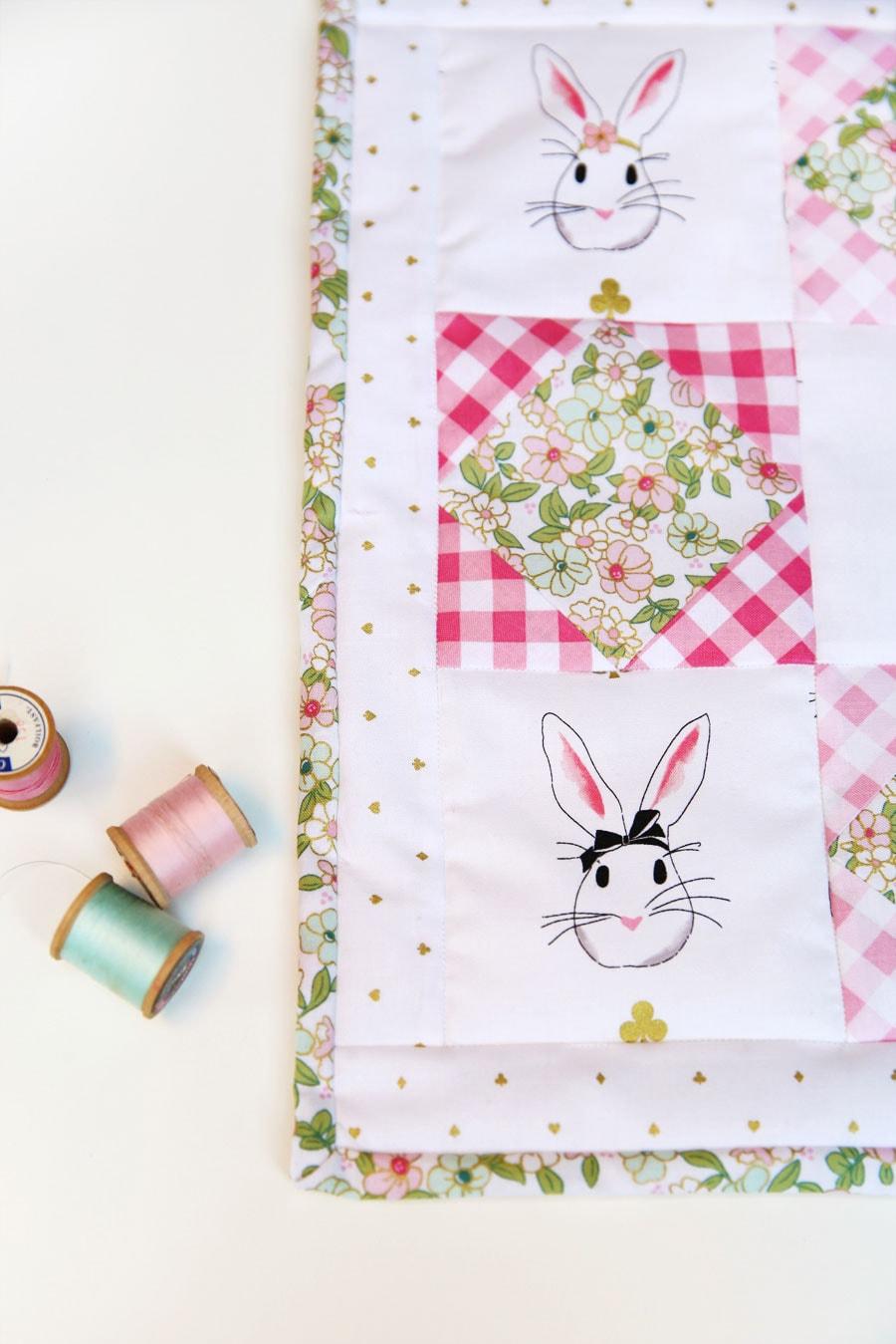 Wonderland Mini Quilt Pattern by Elea Lutz