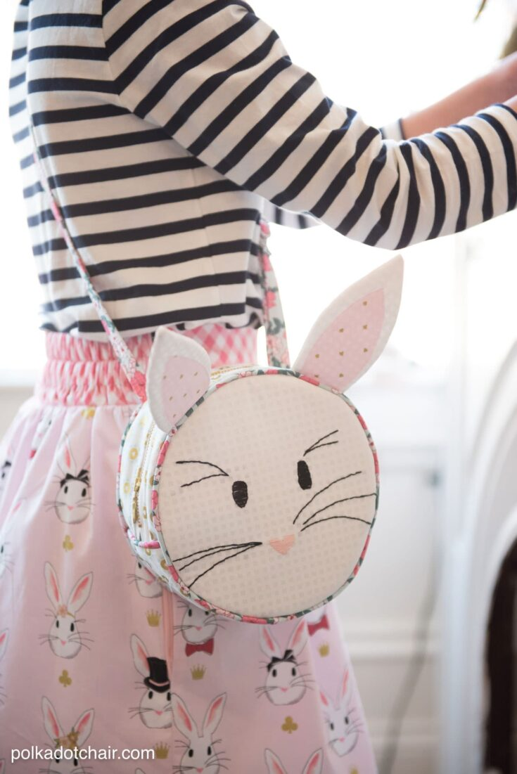 Alice Bag; A Round Purse Bag Sewing Pattern