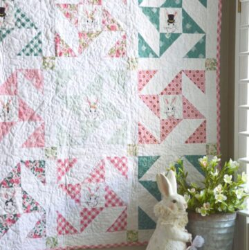 Snuggle Bunny Quilt Pattern