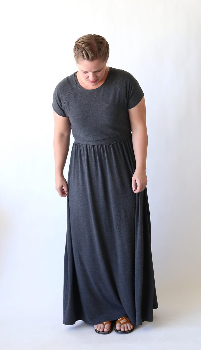 T- Shirt Maxi Dress Tutorial by It's Always Autumn