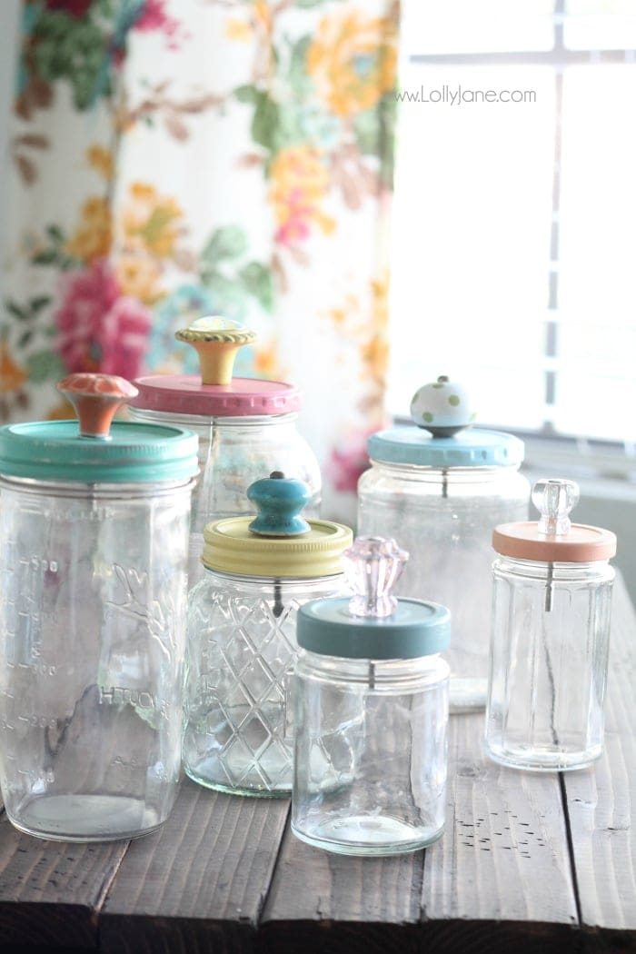 Custom Mason Jar Drinking Glasses