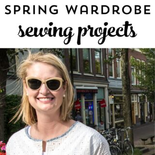 15 Simple Spring Wardrobe Sewing projects; from fun spring tops to simple summer dresses, there are so many cute things to sew on this list!
