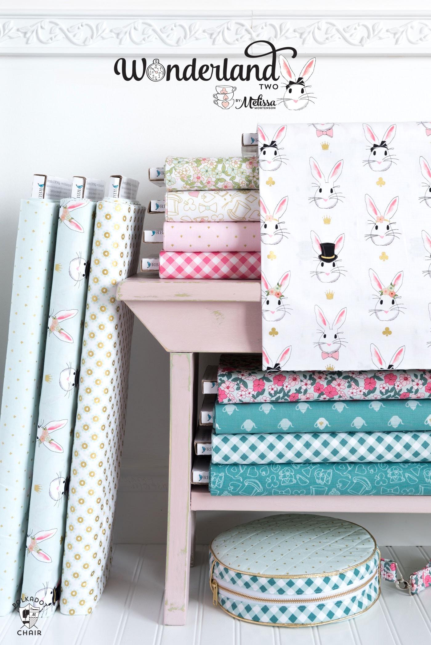Wonderland Two Fabric by Melissa Mortenson of polkadotchair.com for Riley Blake Designs