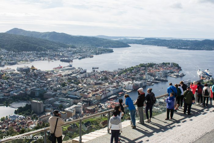 Suggestions for an itinerary for a day in Bergen, Norway. What to do in Bergen with kids when you're on a Norwegian cruise. Lots of great tips and ideas from polkadotchair.com