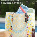 Oversized Beach Bag Sewing Pattern