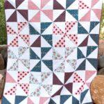 Summer Pinwheel Quilt