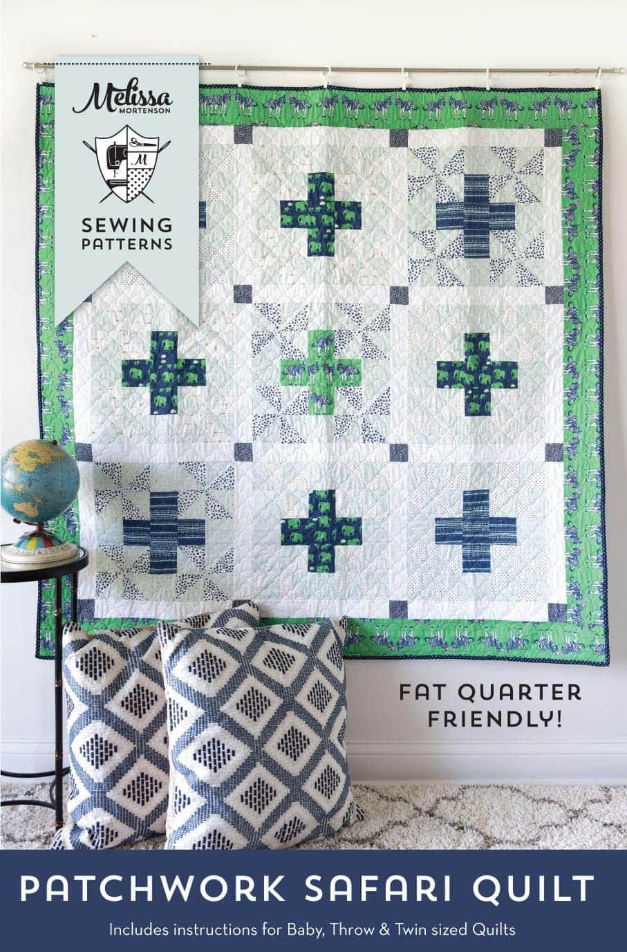 New Patchwork Safari Quilt Pattern!