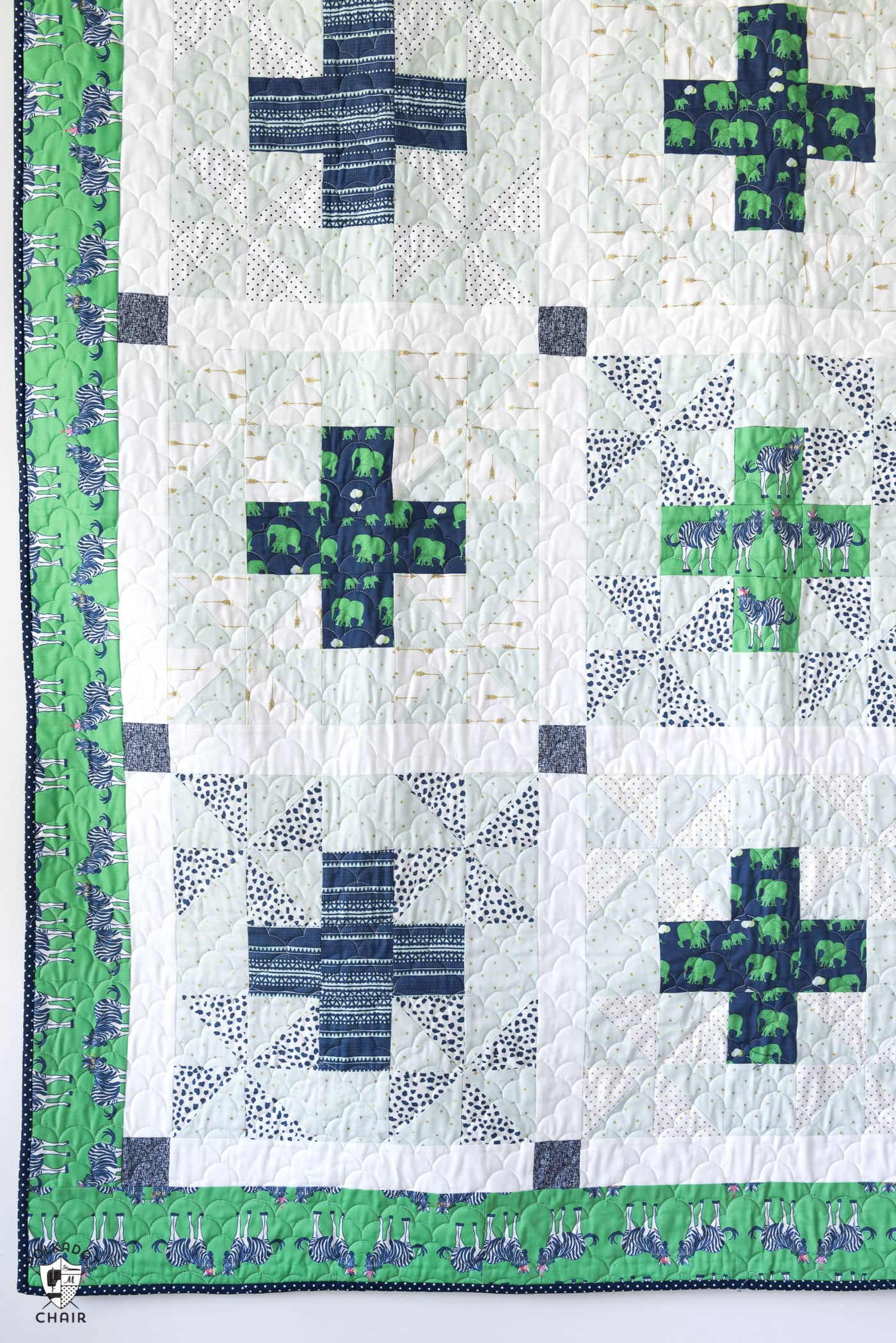New Patchwork Safari Quilt Pattern The Polka Dot Chair