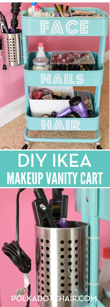 IKEA Makeup Vanity
