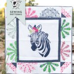 Introducing Zinnia the Zebra Quilt Pattern