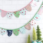 DIY Scallop Fabric Banner & Cricut Maker Giveaway