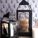 DIY Halloween Decor ideas; Haunted Mansion Inspired Lanterns