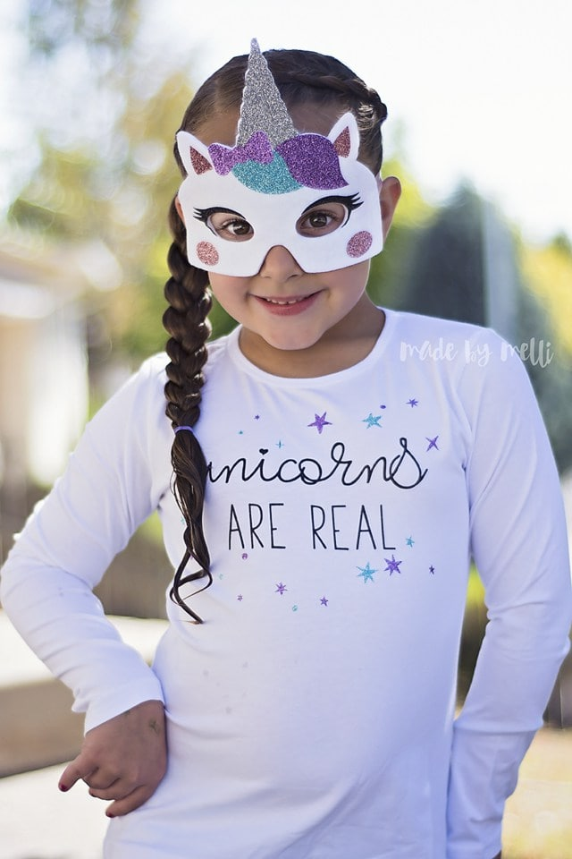 DIY Unicorn Costume by Made by Melli