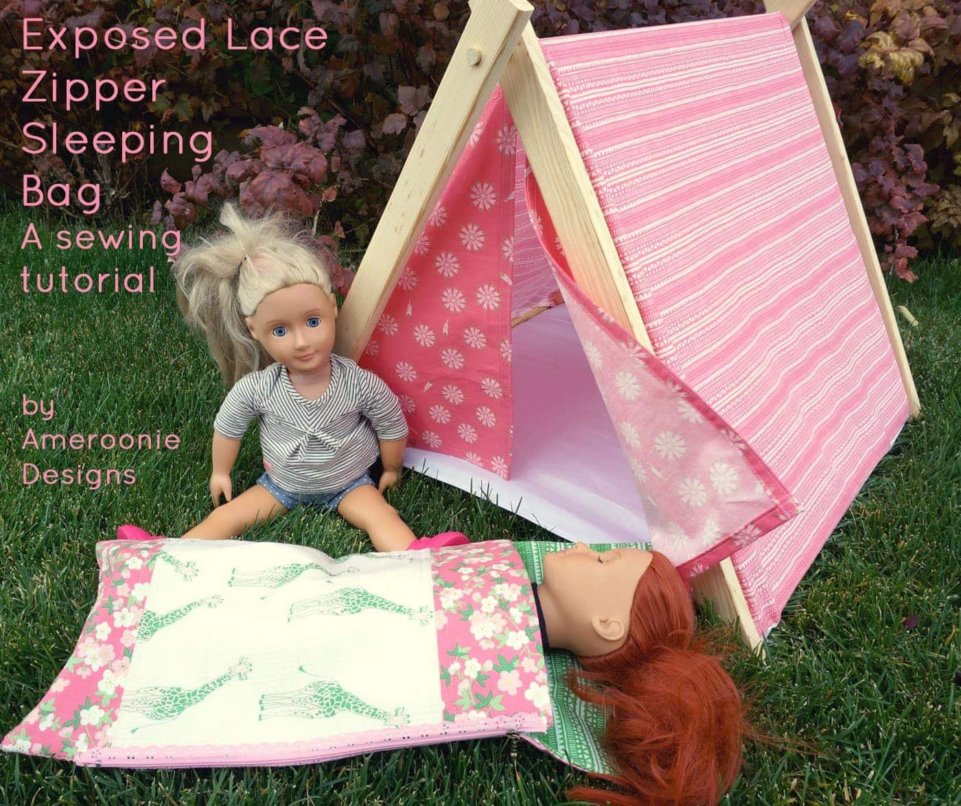 Doll Sleeping Bag Sewing Tutorial
