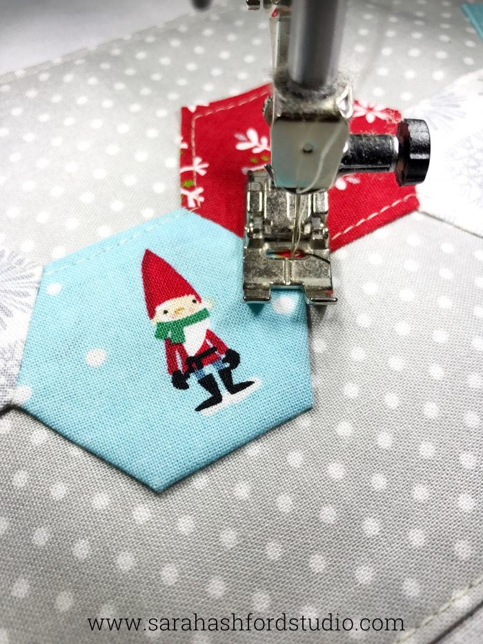 Machine stitched christmas gift ideas