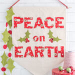 Christmas DIY Canvas Banner