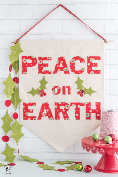 Christmas DIY Canvas Banner