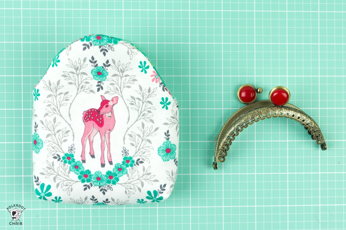 Metal Frame Purse Tutorial The Polka Dot Chair