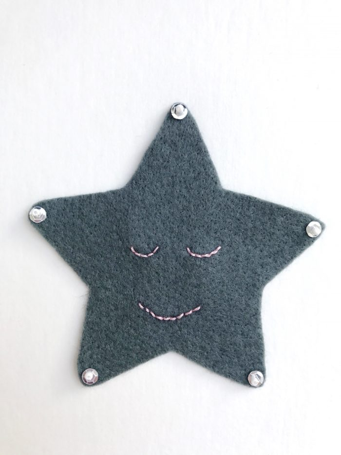 Kawaii Inspired Felt Christmas Ornament Pattern - so cute and easy, such a fun Christmas Craft idea! #christmascraft #christmasornaments #christmascrafts #feltornaments