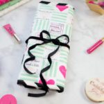 How to Sew a Makeup Brush Roll Bag