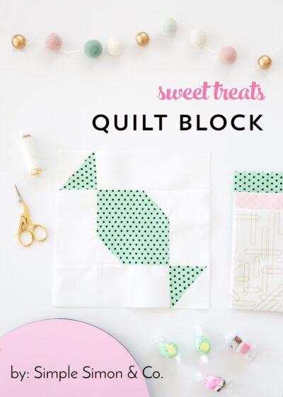 Sweet Treats Quilt Block Tutorial