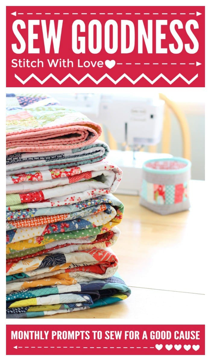 Tips for Sewing for good- lots of great ideas for Charity sewing projects