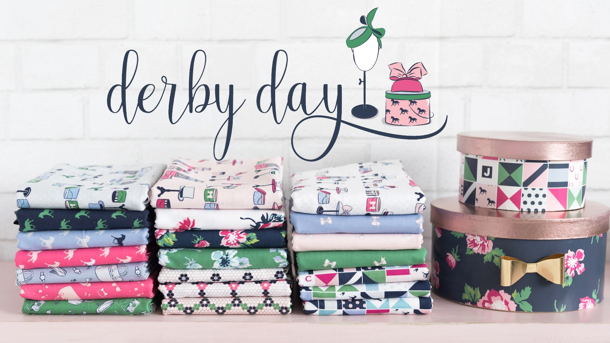 Derby Day Fabric By Melissa Mortenson For Riley Blake