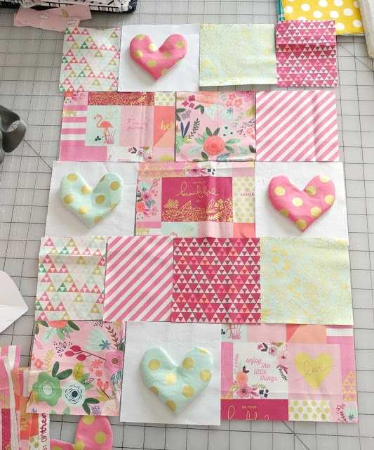 How to make a mini quilt