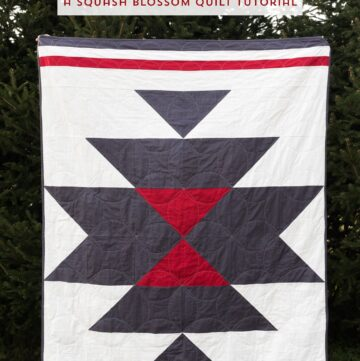 Sundance Quilt; A Free Squash Blossom Quilt Pattern