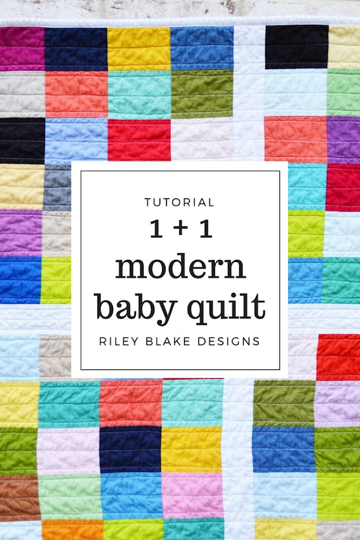 26 sunshine and gingham baby quilt riley blake designs