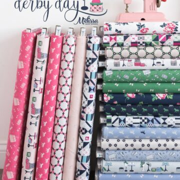 Introducing the Derby Day Fabric Collection