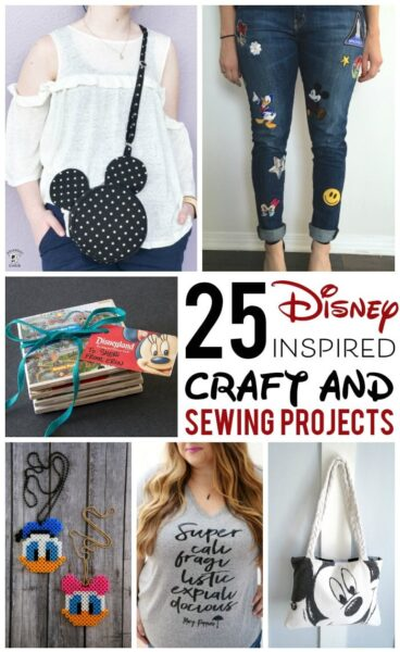 25+ Adorable DIY Disney Craft and Sewing Projects