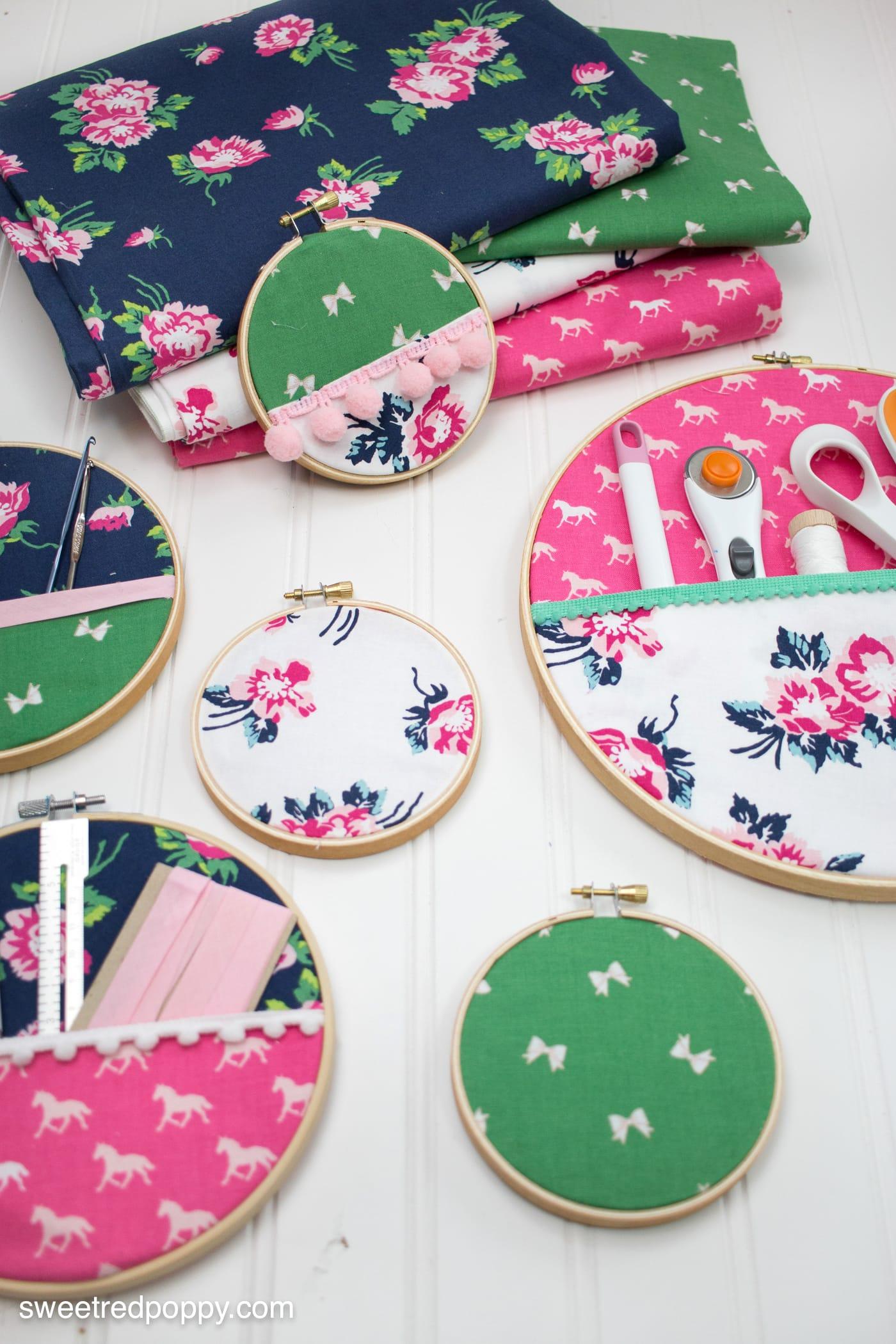 Diy embroidery hoop organizers the polka dot chair