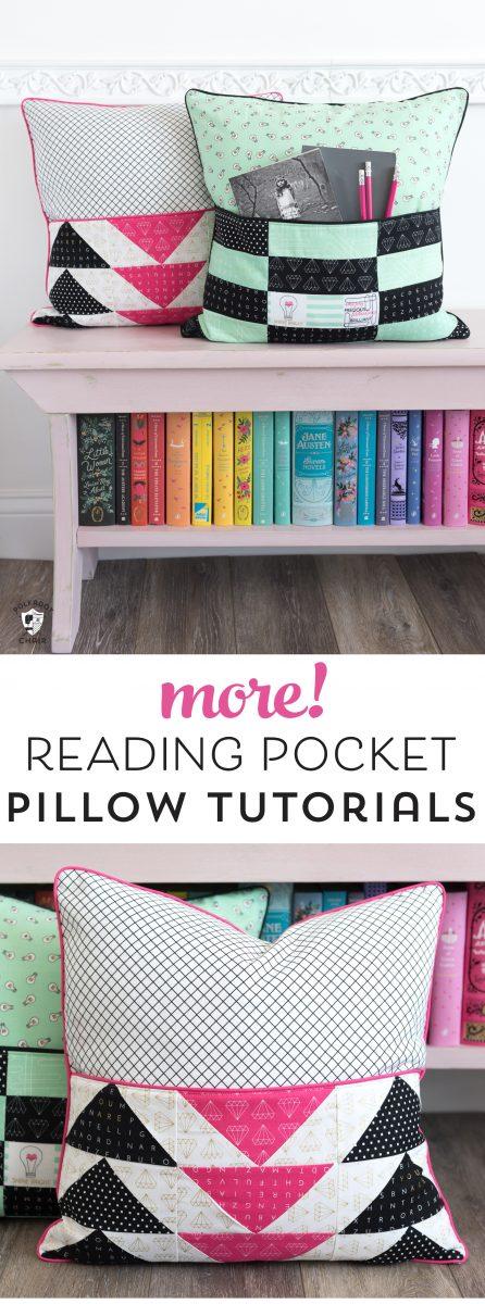 Book Pillow Patterns