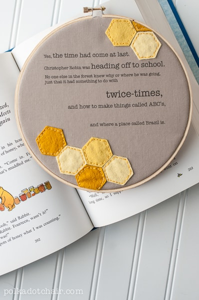 DIY Winnie the Pooh room wall decor ideas