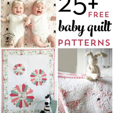 25+ Baby Quilt Patterns