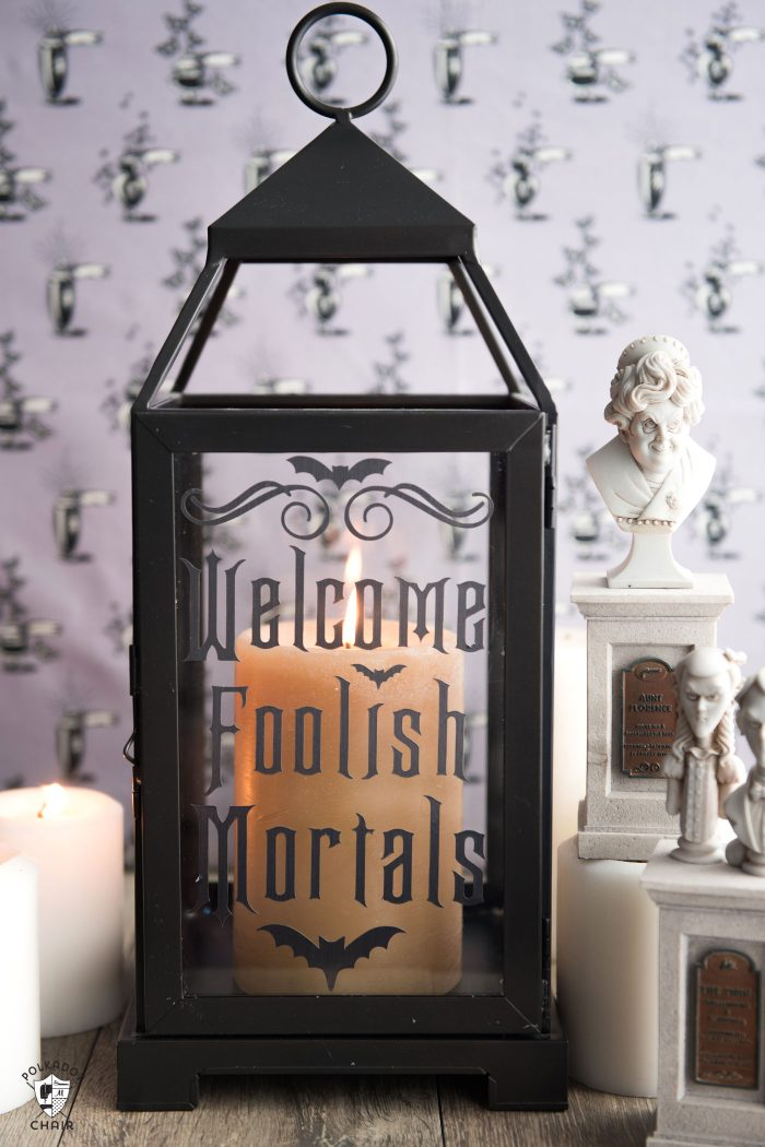 Disney haunted mansion inspired craft ideas