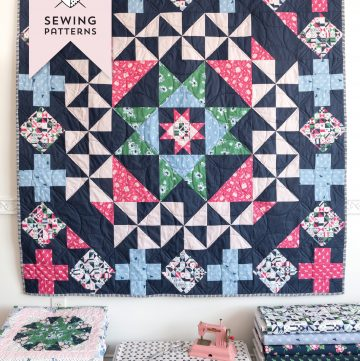 3 New Quilt Patterns & Shop Discount Code