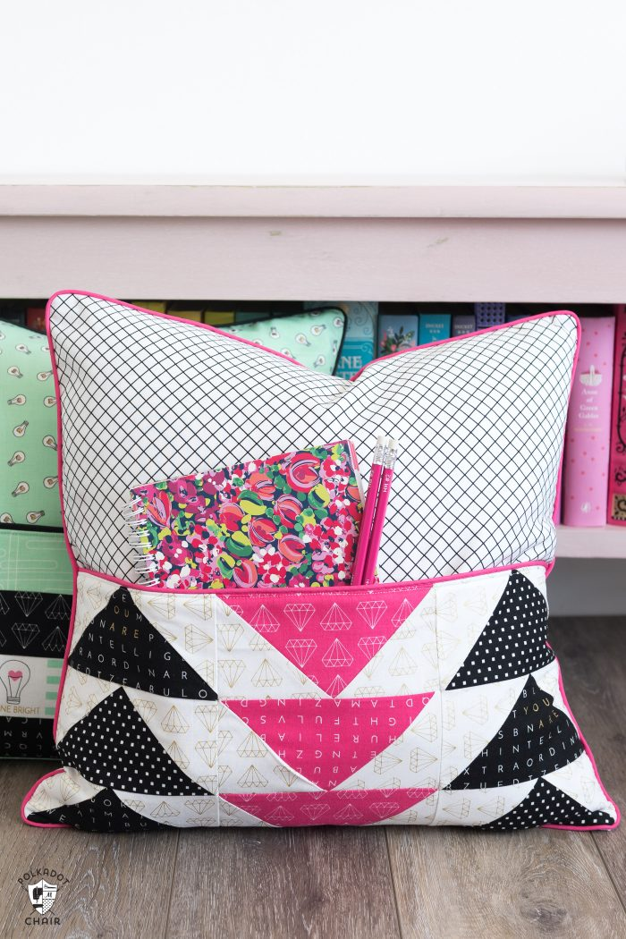 Book Pillow Sewing Pattern Free