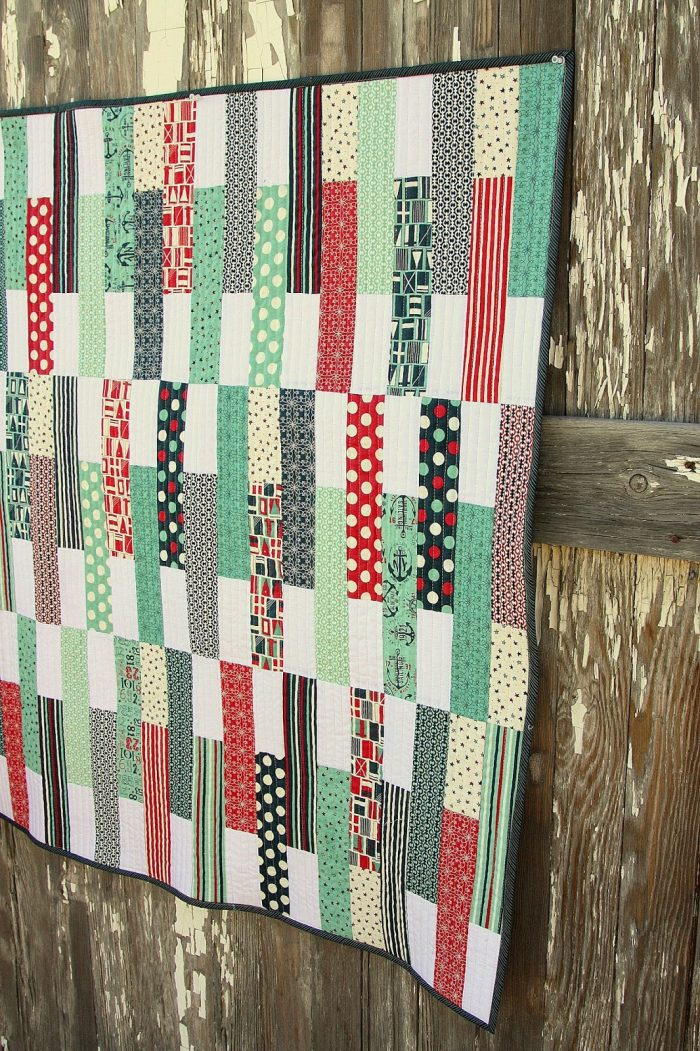 Stick Shift Baby Quilt Pattern